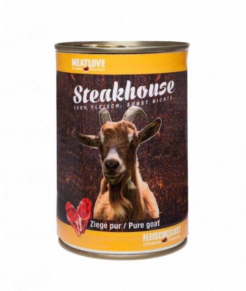 Steakhouse Ziege pur