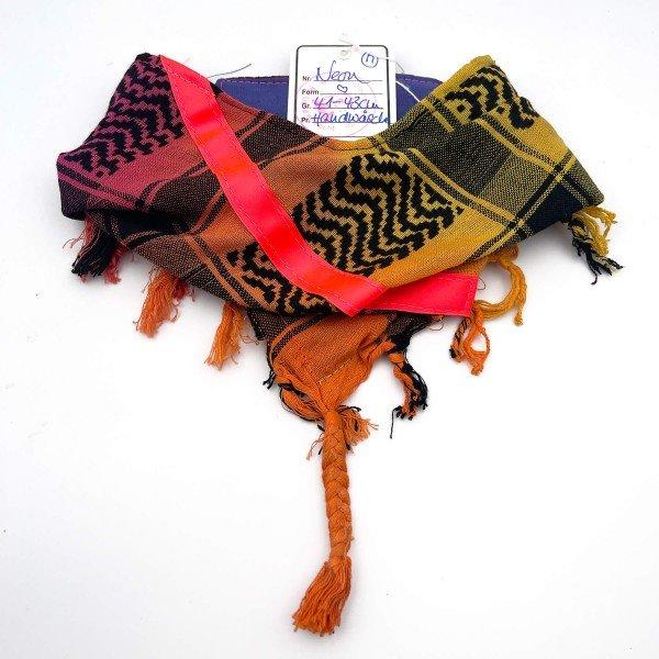 "HundePali Colourful ""Big Stripes Neon"" - Pink Oblique - M"