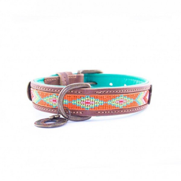 Hundehalsband Tiger Lily S2,5