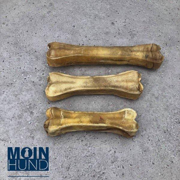 Kauknochen mit Ochsenziemerfüllung