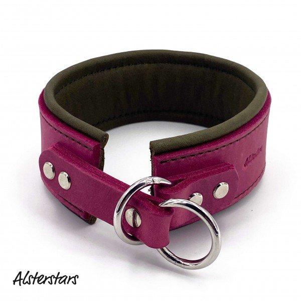 Alsterstars - Zugstopphalsband Pink meets Olive