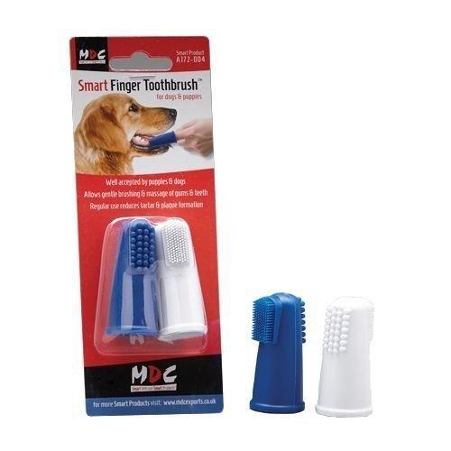 Fingerzahnbürste für Hunde - 2er Set