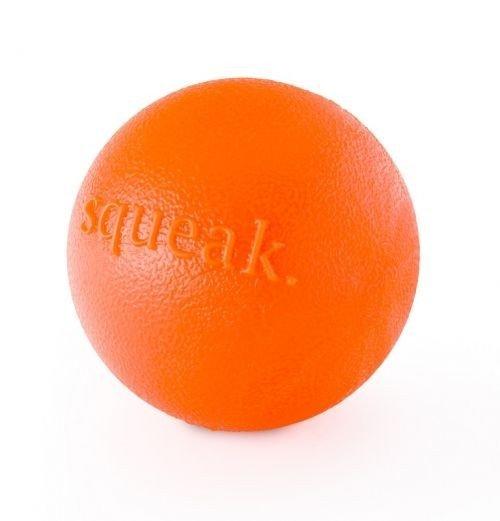 Orbee-Tuff Squeak Ball - Orange