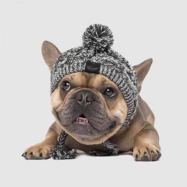 Polar Pom Pom Hat - grau