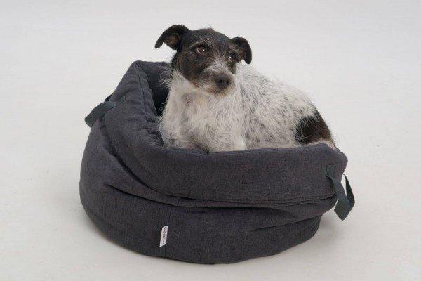 Dogs in the City - Little Basket Monterey SCHWARZ