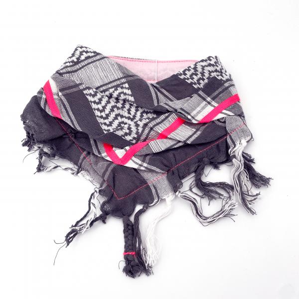 "HundePali ""Stripes Neon"" - Pink Oblique"