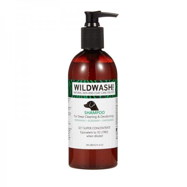 Wildwash - Pro - Shampoo for deep Cleaning an Deodorising 300 ml