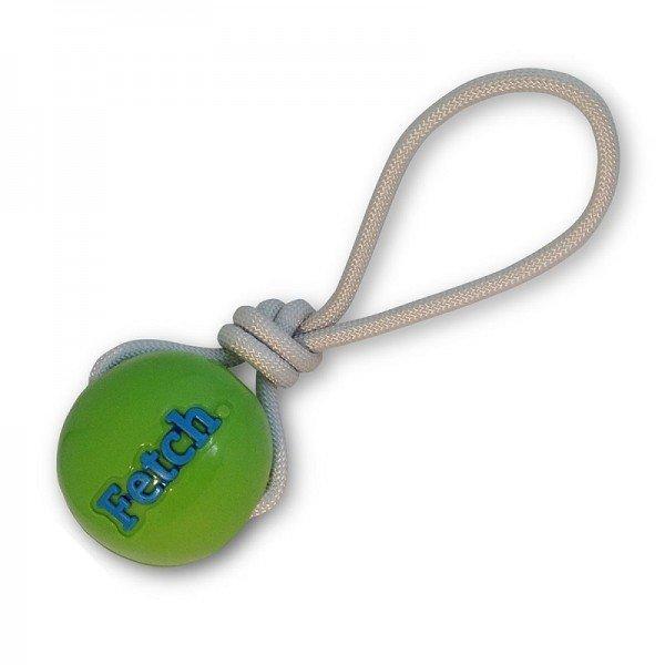 Planet Dog - Fetch Ball with Rope - Grün