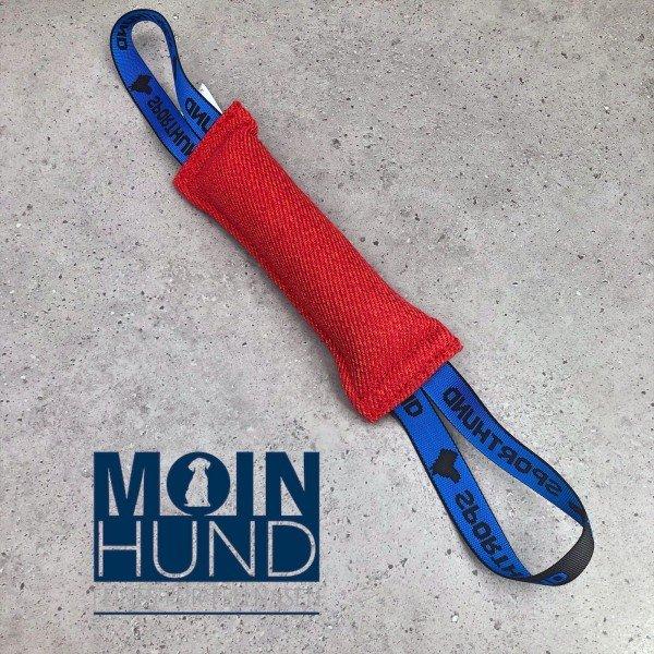 Sporthund - Beißwurst Schlauch 5 x 25cm Rot
