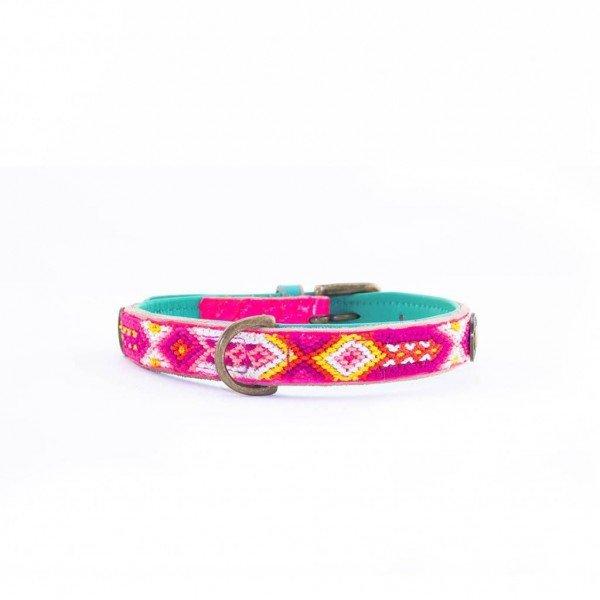 Hundehalsband Rose 2 cm