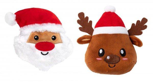 Fuzzyard - Santa & Reindeer