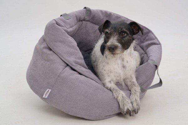 Dogs in the City - Little Basket GRAU
