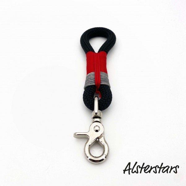Alsterhaken - Black meets Red and Grey