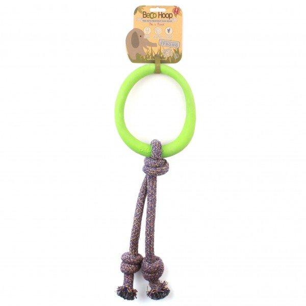 Beco - Pet Hoop on a Rope - Grün