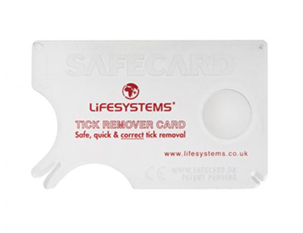 Lifesystem - Zeckenkarte