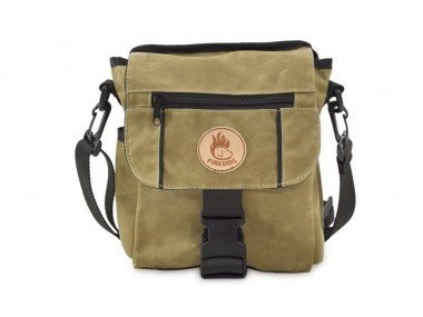 Firedog Waxed Cotton - Mini Dummy Bag - Khaki