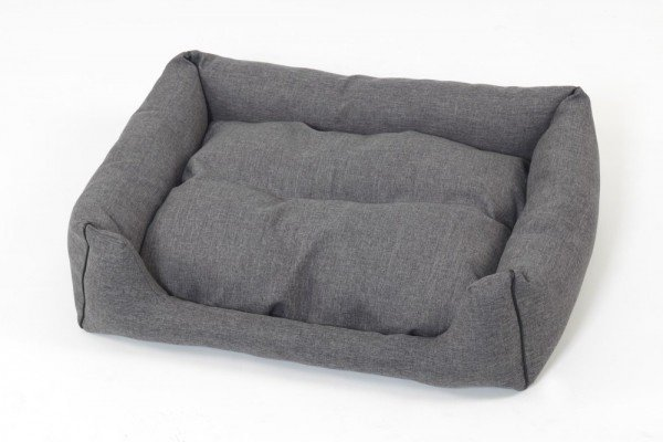Hundekörbchen Box Bett New York - anthrazit