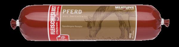 Fleischeslust - Pferd mit Kartoffeln