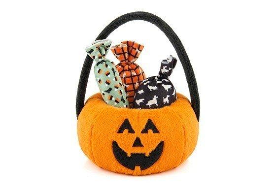 Zippy Paws - Halloween Kürbis mit Bonbons