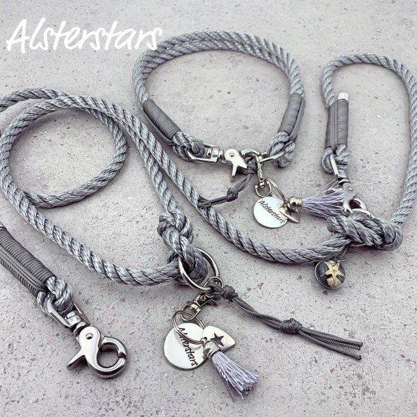 Silver meets Grey Steel - Tauleinenset