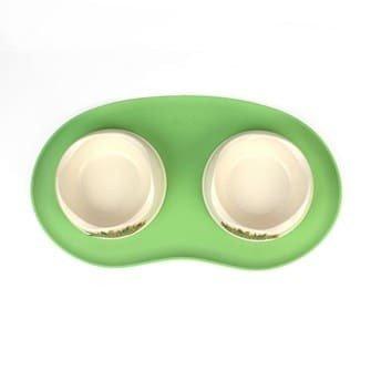 Pet Napfunterlage grün