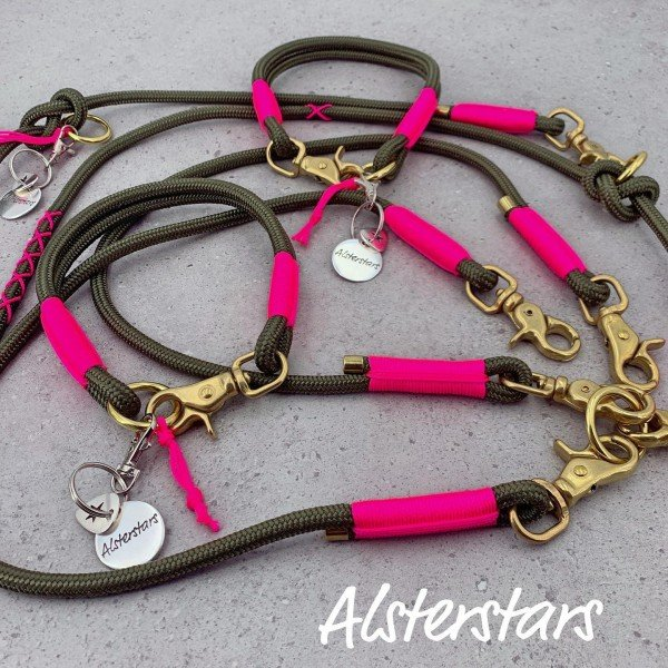 Alsterstars Set - Olive and Pink meets Gold