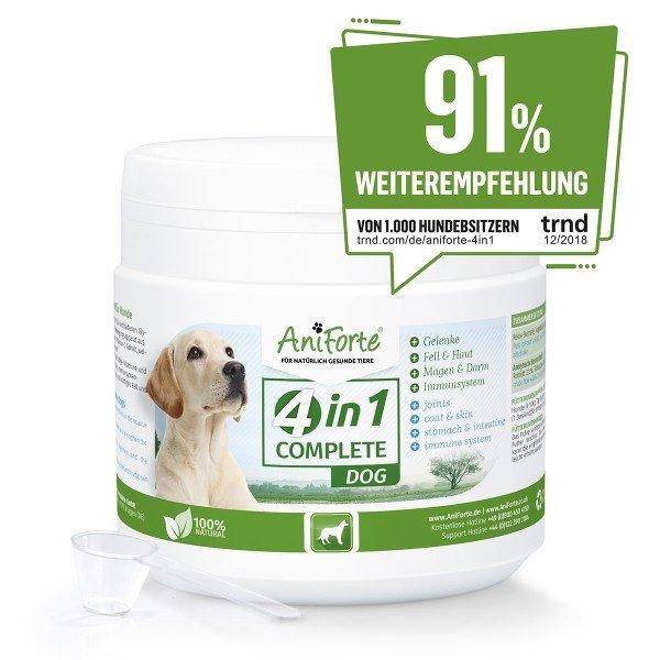 4In1 Dog Complete – Rundumversorgung für Hunde