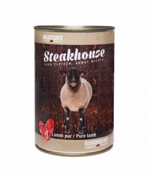 Steakhouse Lamm pur 410g