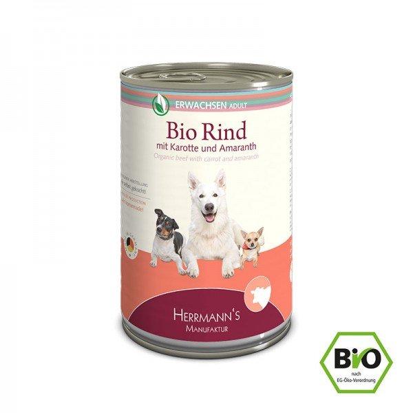 Herrmann's- Bio Rind mit Karotten und Amaranth
