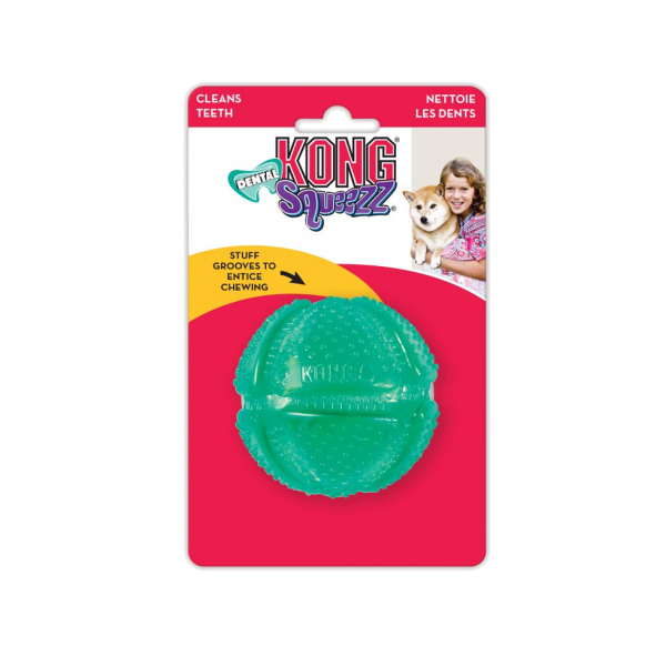 Kong - Dental Squeezz Ball