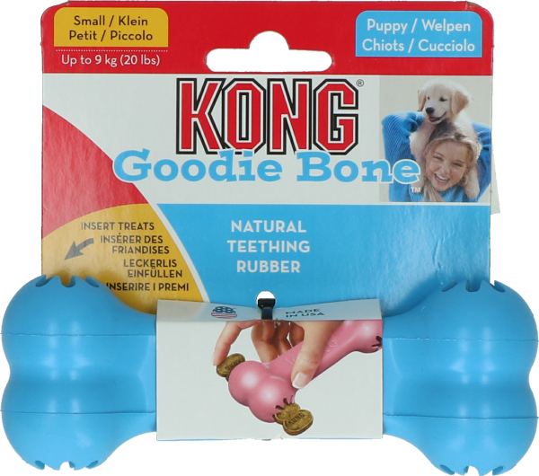 Kong Puppy Goodie Bone - Blau