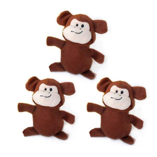 Miniz 3-Pack Äffchen