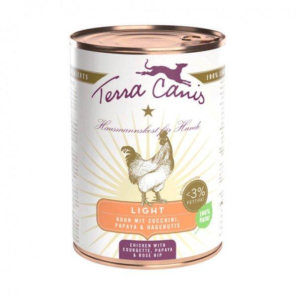 Terra Canis - Huhn mit Zucchini, Papaya und Hagebutte