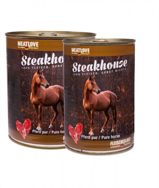 Fleischeslust - Steakhouse Pferd pur 410g