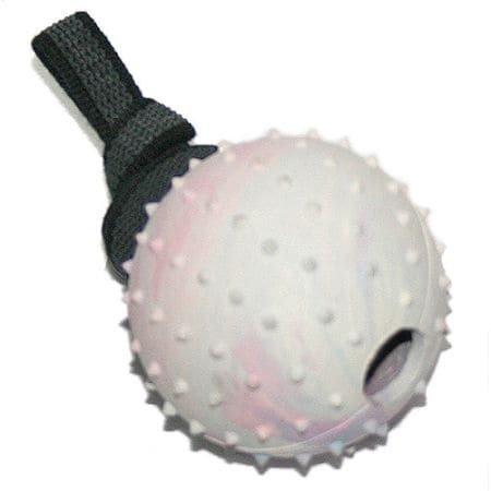 Hartgummi Ball mit Handschlaufe