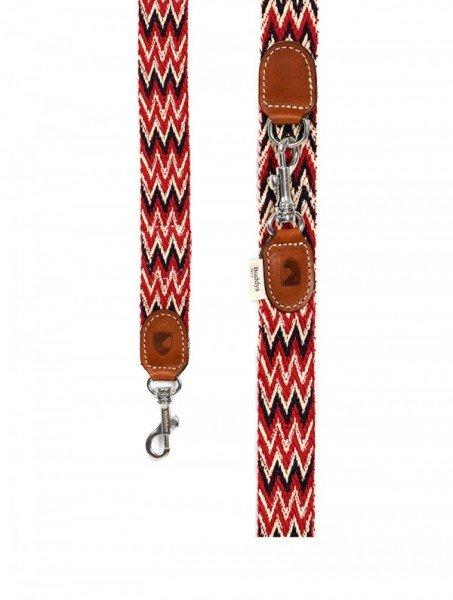 Buddys Dogwear - Peruvian Red Hundeleine