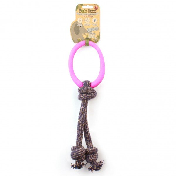 Pet - Hoop on a Rope - PINK