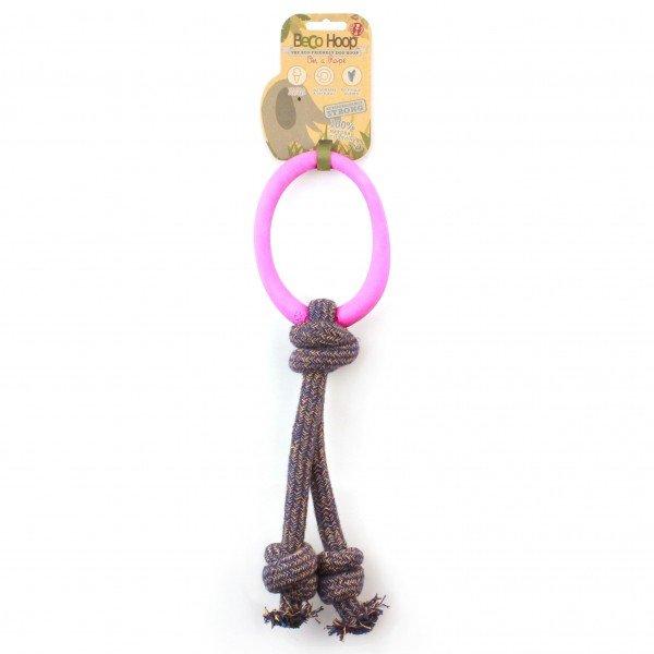 Beco - Pet Hoop on a Rope - Pink