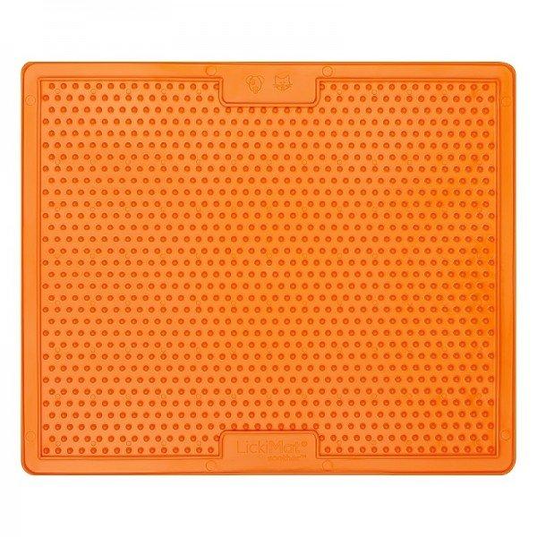 Lickimat Soother Large - orange