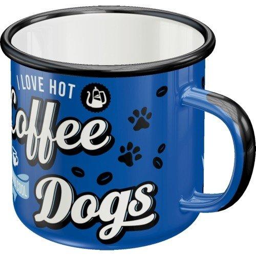 Pfotenschild - Hot Coffee & Cool Dogs - Becher