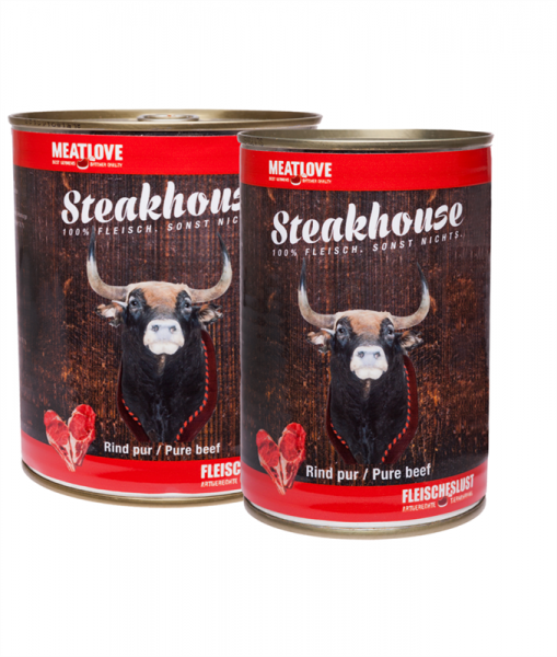 Steakhouse Rind pur 410g