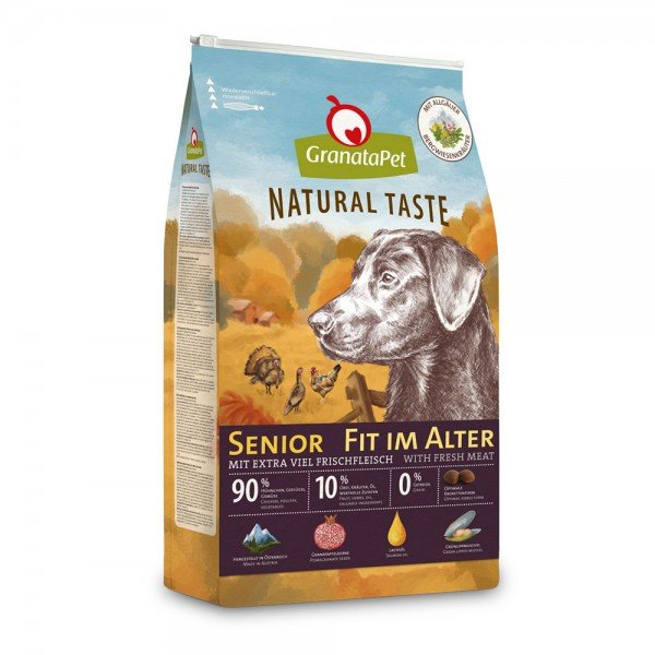 Granatapet - Natural Taste - Senior fit im Alter