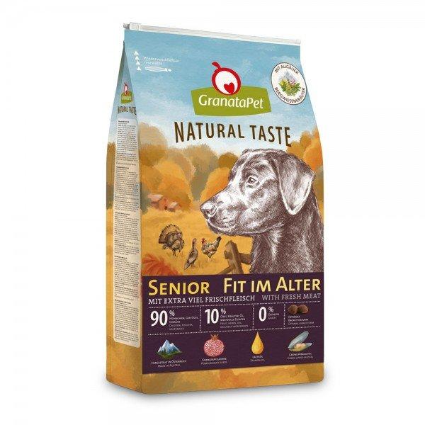 Granatapet - Natural Taste - Senior fit im Alter