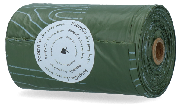 PoopyGo - Bio Poop Bags - Single