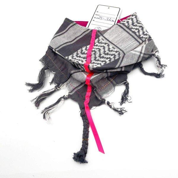 "HundePali Grey ""Stripes Neon"" - Pink Straight - S"
