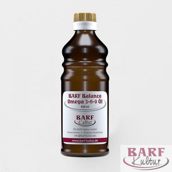 BARF Balance Omega 3-6-9 Öl - Barf Kultur