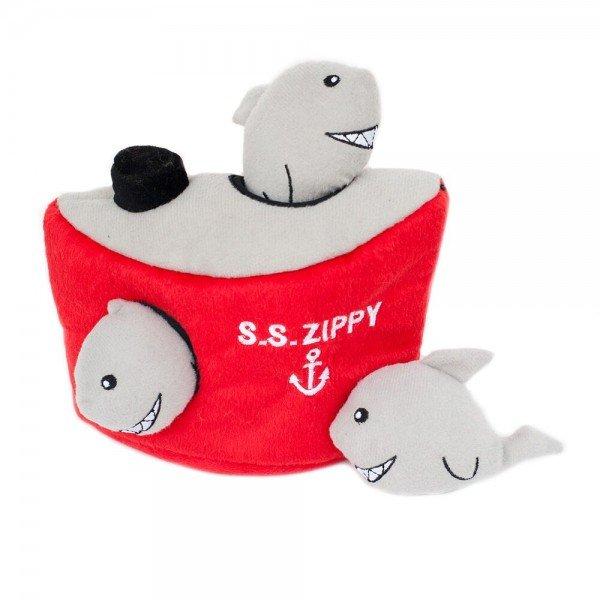 ZippyPaws - Zippy Burrows - Shark 'n Ship