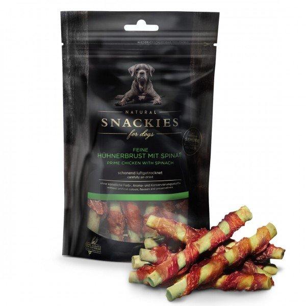 Snackies - Feine Hühnerbrust mit Spinat