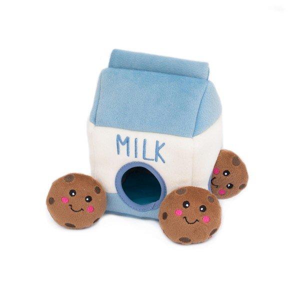 ZippyPaws - Zippy Burrow Milch und Kekse