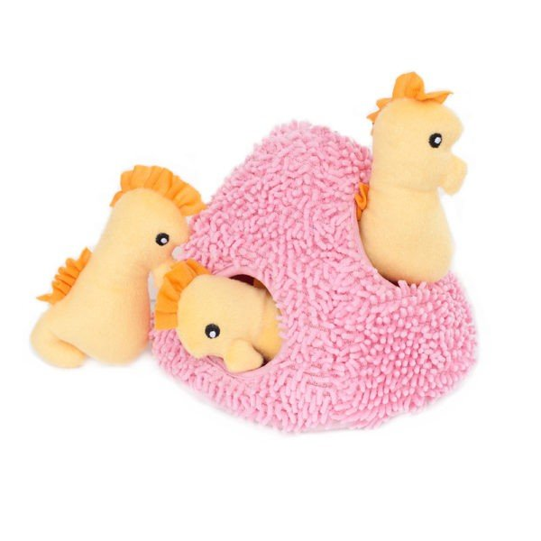 Zippy Paws - Zippy Burrow - Seepferdchen in der Koralle